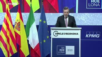 Draghi: Italia torna a crescere nonostante il Covid