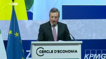Draghi: mantenere politica monetaria e fiscale espansiva