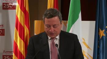 Draghi, ripresa sia rapida ma anche giusta e duratura