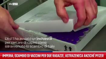Imperia, scambio di vaccini per due ragazze, AstraZeneca anzich� Pfizer