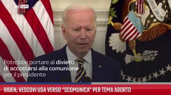 Biden, vescovi Usa verso ?scomunica? per tema aborto