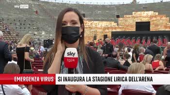 ERROR! Covid, l'Arena di Verona riapre a 6mila spettatori