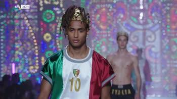Milano moda Uomo, la terapia della luce di Dolce & Gabbana