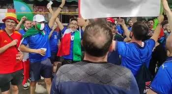 italia galles tifosi fuori olimpico