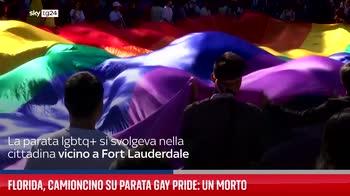 Florida, camioncino su parata gay pride: un morto
