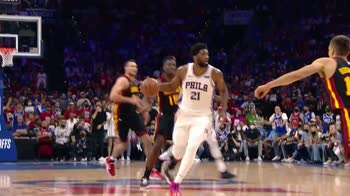 NBA, 31 punti per Joel Embiid in gara-7 contro Atlanta