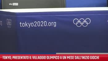 ERROR! Tokyo, presentato il villaggio olimpico a un mese dall'inizio giochi