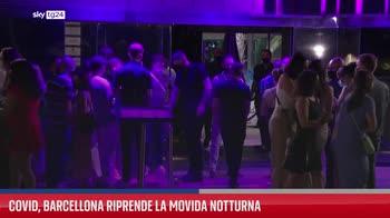Covid, Barcellona riprende la movida notturna