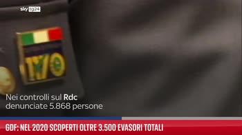 Gdf: nel 2020 scoperti oltre 3.500 evasori totali