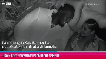 VIDEO Usain Bolt è diventato papà di due gemelli