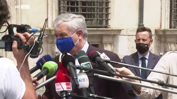 ERROR! Tajani, Con green pass togliere mascherine