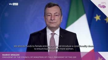 Donne, Draghi: 7 mld al 2026 su parit� genere