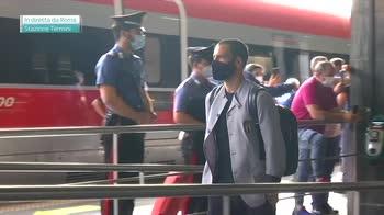 ERROR! L'Italia lascia Roma: la partenza per Coverciano