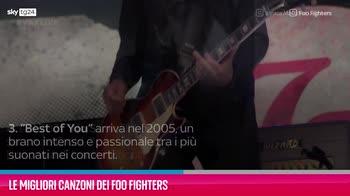 VIDEO Foo Fighters, le migliori canzoni