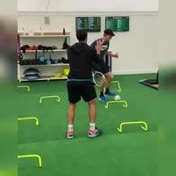 Sinner, allenamento speciale verso Wimbledon. VIDEO