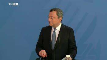 """Euro 2020, Draghi: """"No a finale in Paesi ad alto contagio"""""""