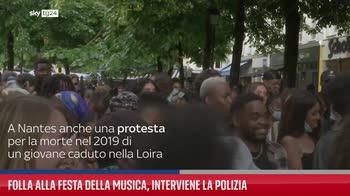 Folla alla Festa della Musica, interviene la polizia