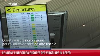 Le nuove linee guida europee per viaggiare in aereo