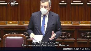 Draghi: tutto appare roseo non illudiamoci, impariamo dall'esperienza dell'anno scorso