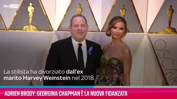 VIDEO Adrien Brody: Georgina Chapman è la nuova fidanzata