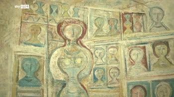 A venezia il dialogo artistico tra Campigli e gli Etruschi