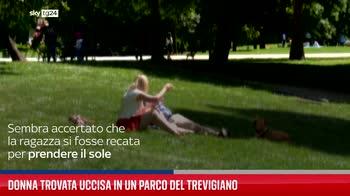 Donna trovata uccisa in un parco del Trevigiano
