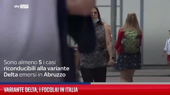Variante Delta, i focolai in Italia