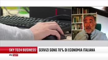 I servizi rappresentano il 70% dell'economia italiana