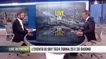 Giuseppe De Bellis presenta Live In Firenze