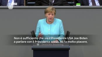 ERROR! Merkel: come Ue dobbiamo ricercare un contatto con la Russia