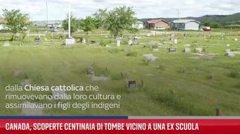 Canada, scoperte centinaia di tombe vicino a una ex scuola
