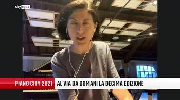 VIDEO Piano City Milano, Ricciarda Belgiojoso a Sky tg24