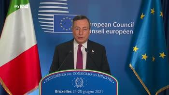 ERROR! Draghi, Accordo sui ricollocamenti non era conveniente per l'Italia