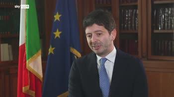Live In Firenze, il ministro Speranza sulle varianti
