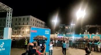 Italia-Austria, gol Chiesa: la gioia di Piazza del Popolo