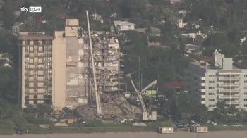 Crollo Miami: sale a 9 il bilancio dei morti e 156 dispersi