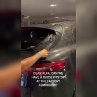 Raikkonen, grandinata pazzesca: distrutta auto ma non solo