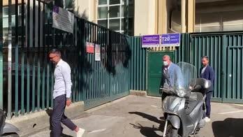 Fiorentina, lo staff di Italiano in sede