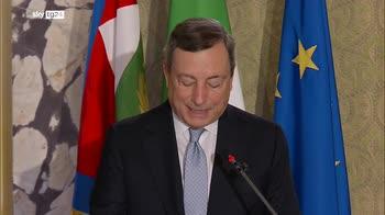 ERROR! Draghi, Paese riparte ma pronti agire se peggiora Covid