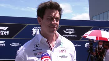 f1 canale 207 intv toto wolff ore 13.18