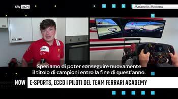 ++NOW E-Sports, ecco i piloti del team Ferrari Academy