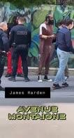NBA: Harden fermato e perquisito dalla polizia a Parigi