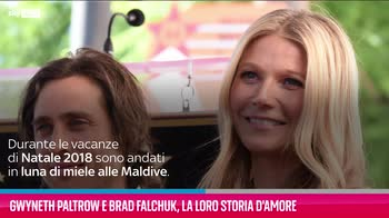 VIDEO Gwyneth Paltrow e Brad Falchuk, la loro storia d'amor