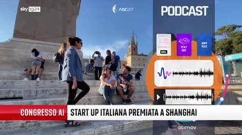 Intelligenza artificiale, start up italiana premiata in Cina