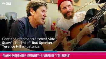 """VIDEO Gianni Morandi e Jovanotti, il video di """"L'Allegria"""""""