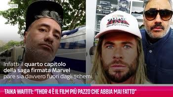 """VIDEO Taika Waititi: """"Thor 4 è il mio film più pazzo"""""""