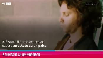 VIDEO Jim Morrison, 5 curiosità sul cantautore