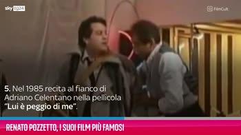 VIDEO Renato Pozzetto, i suoi film più famosi