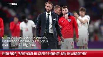 """Euro 2020, """"Southgate ha scelto rigoristi con un algoritmo"""""""