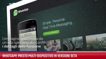 WhatsApp, presto multi-dispositivo in versione beta